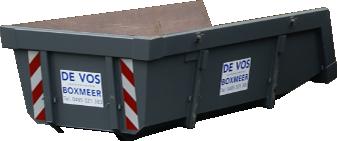 6M³ Open Portaalcontainer